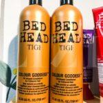 Cặp gội xả TIGI nâu Colour Goddess cho mái tóc nhuộm tông ấm
