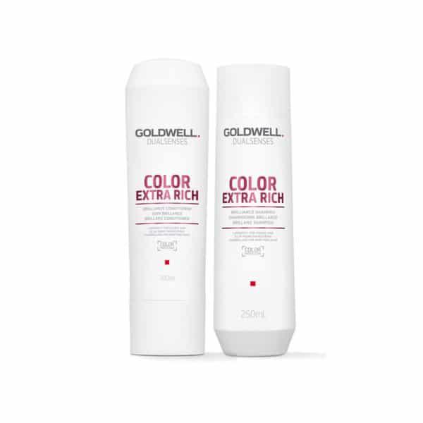 Dầu gội Goldwell Color Extra Rich siêu dưỡng màu nhuộm 250ml
